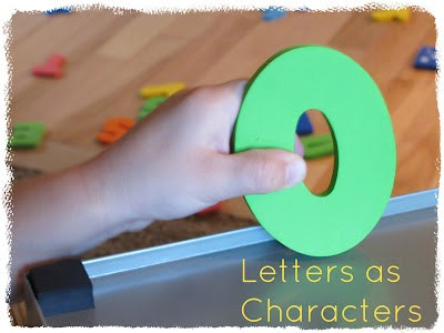 Letters as Characters