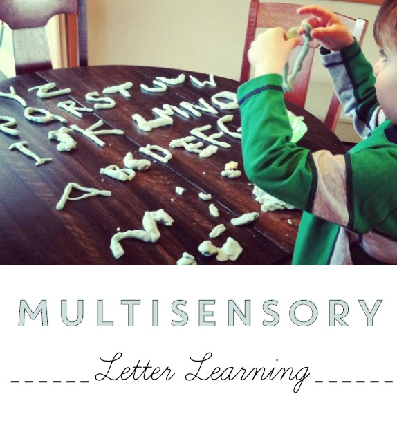 Multisensory-Letter-Learning