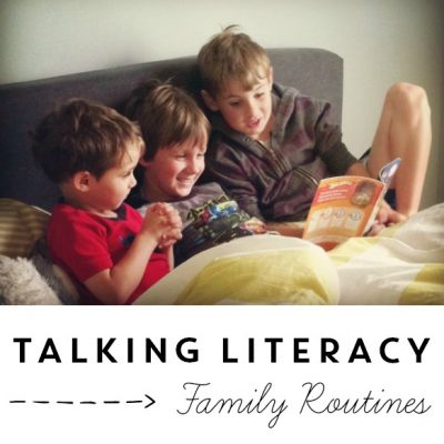 Time to Talk About Literacy