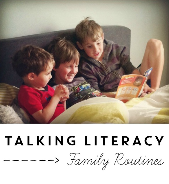 Time to Talk Literacy