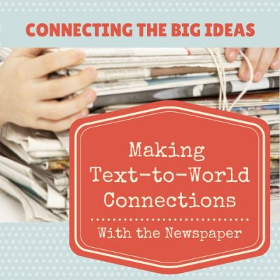 Connecting the Big Ideas for Reading Comprehension