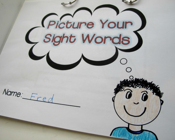 Picture Your Sight Words Journal