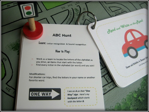 Read and Write on the Road ABC Hunt
