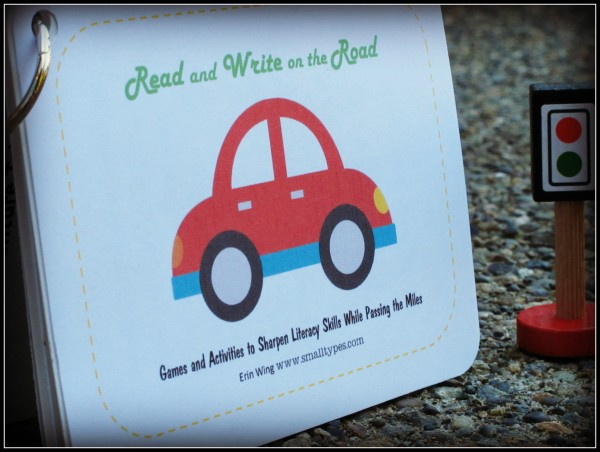 Read and Write on the Road Printable