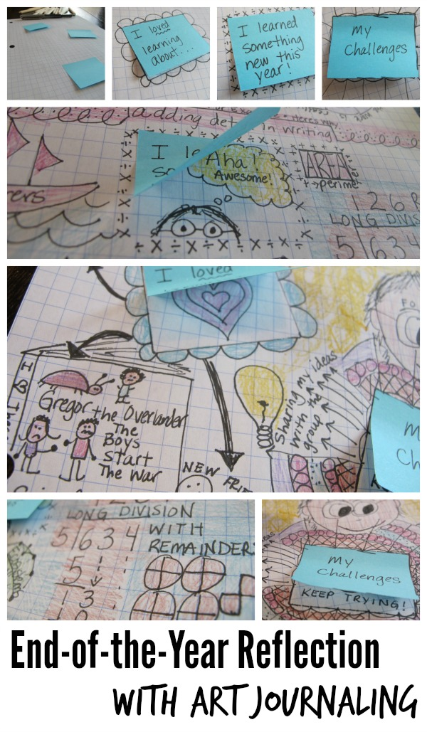 End of the Year Reflection With Art Journaling
