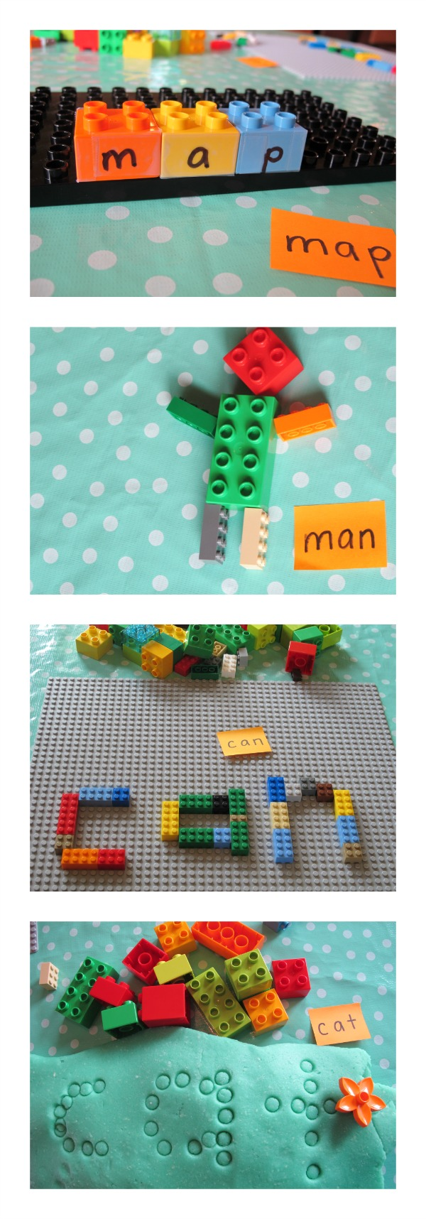 LEGO Spelling Activities