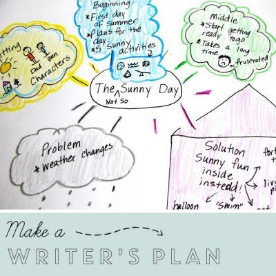 A Writer's Plan