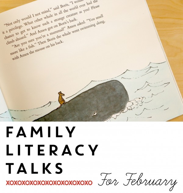 Family Literacy Talks for February