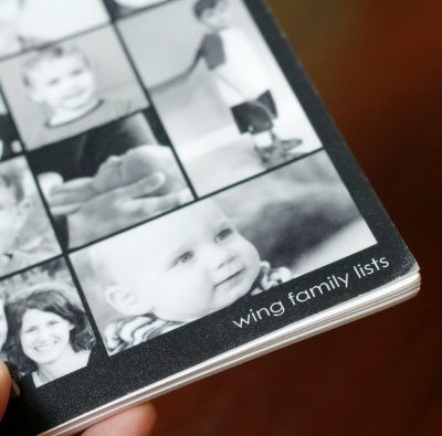 Family List Book