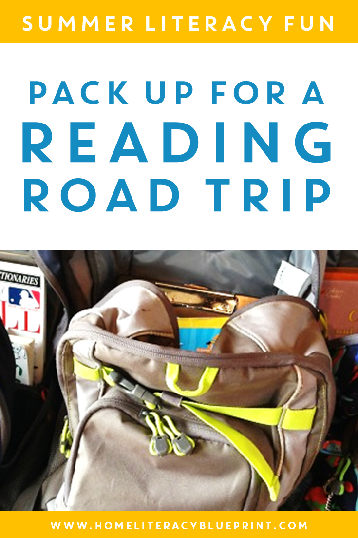 Take a Reading Road Trip! #summerlearning #homeliteracy