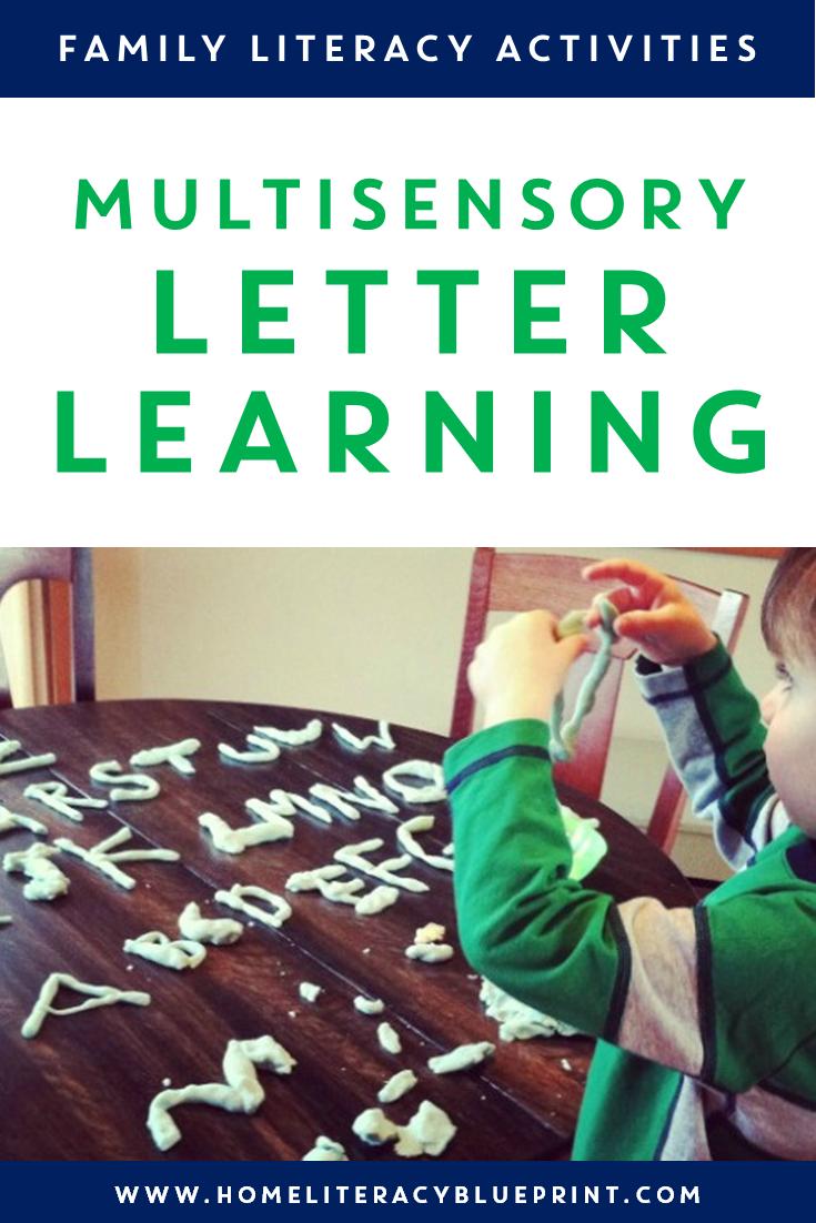 Multisensory Letter Learning