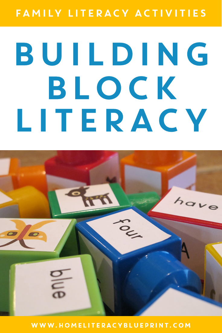 Building Block Literacy: A creative way to practice high-frequency sight words.