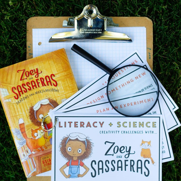 5 great chapter book series for young scientists + a FREE science and literacy printable!