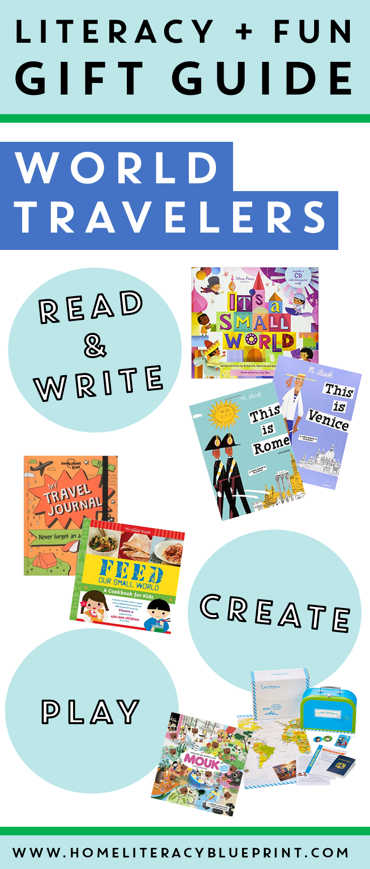 Literacy and Fun Gift Guide for World Travelers