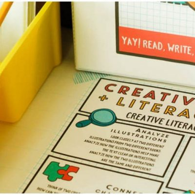 26 Activities to Boost Creativity and Literacy Skills